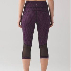 Lululemon Gear Up Crop Leggings